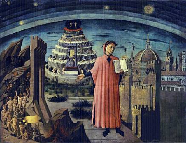 """Dante, """"Comedia"""""""